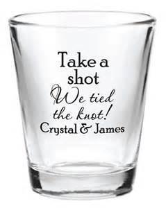 144 custom 1 5oz wedding favor glass shot glasses personalized new