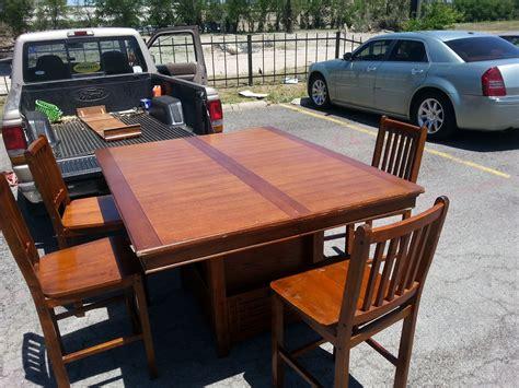 large dining room table  wine racks  storage sold