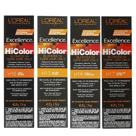 will loreal hi color for dark hair work on black hair l oreal excellence hicolor blondes for dark hair only