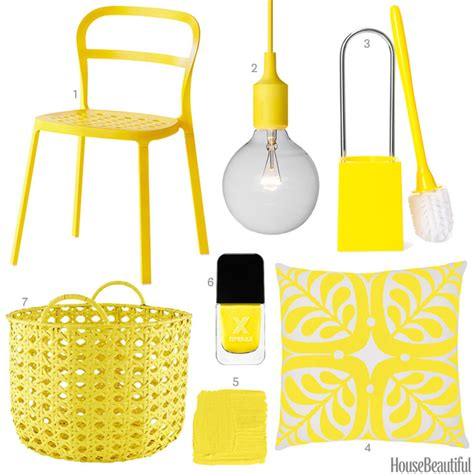 bright yellow accessories bright yellow home decor