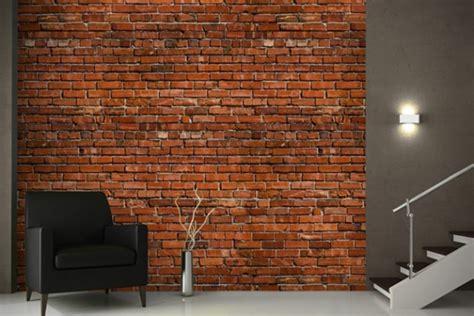 interior decoys convincing brick wallpaper ideas
