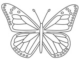 Printable Butterflies Coloring Pages sketch template