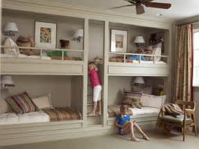 rooms bunk beds and built ins decor