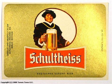 Schultheiss Brauerei Berlin by Tavern Trove Schultheiss Bier