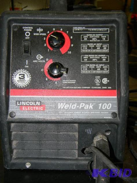 lincoln weldpak 100 lincoln electric weld pak 100 arc welding p tools