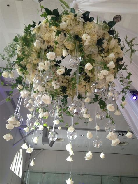 Flower Chandelier Gorgeous Whimsical Suspended Design From A Wedding At Palace Park Spectacular
