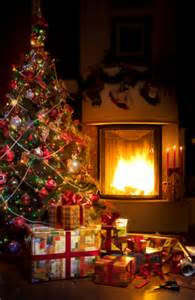 Fireplace With Tree by Why You Probably Shouldn T Burn Gift Wrap On