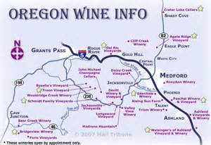 map of oregon wine country the oregon wine info