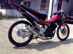 Honda Drag Motor
