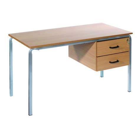 Crushed Bent Teachers Desk Duraform Pu Edge 1500 X 750mm Bent Desk