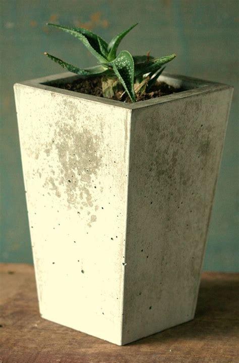 concrete planter concrete planter diggin dirt pinterest
