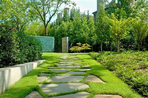 Modern garden design modern house with garden design idea home