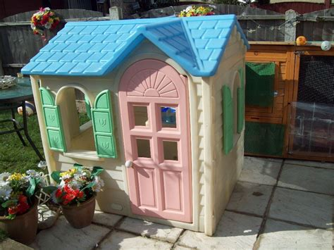 tikes playhouse yellow with roof outdoors stunning tikes playhouse for chic
