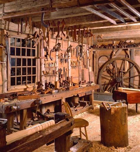 school dominy clock shop  woodworking shop