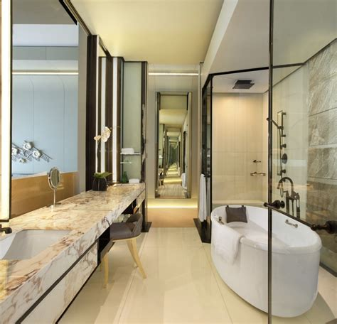 bathroom at keraton at the plaza a luxury collection