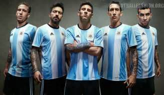 Argentina 2016 2017 copa am 233 rica centenario adidas home soccer jersey