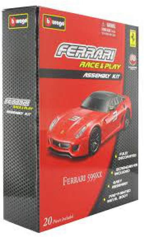 bburago 599xx 1 43 race play assembly kit