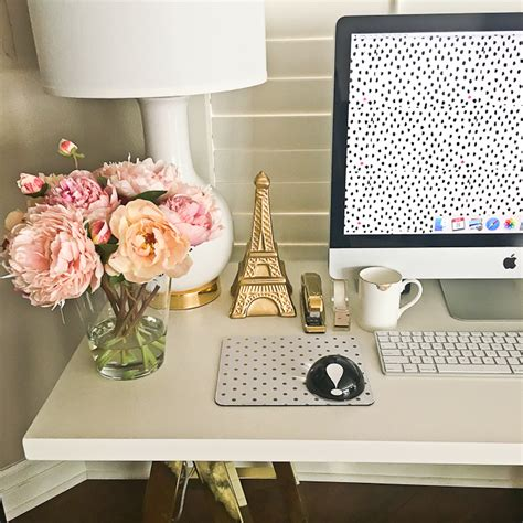 white desk decor instagram roundup and reviews stylish