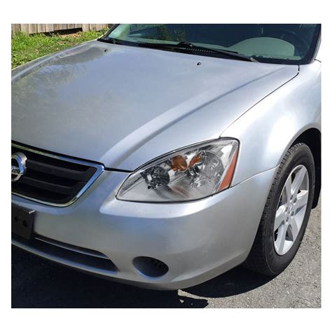 04 Nissan Altima by 02 04 Nissan Altima 4dr Sedan Chrome Headlights