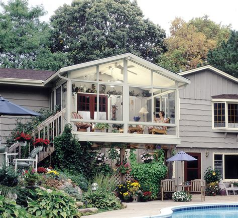 Sunroom On A Deck by Yes Betterliving Sunrooms Builds Right On Top Your Deck