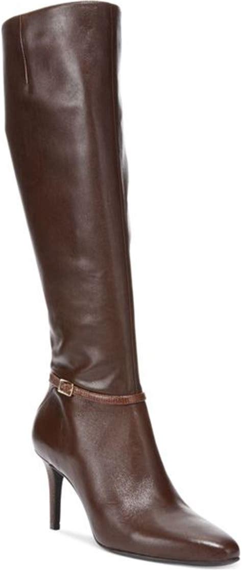 cole haan s garner dress boots in brown