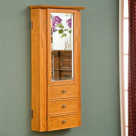 wall hanging jewelry armoire 25 beautiful mirrored jewelry armoires zen merchandiser