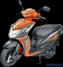Honda Deo 2017 Honda Dio Launched At Rs 49 000 Motoroids
