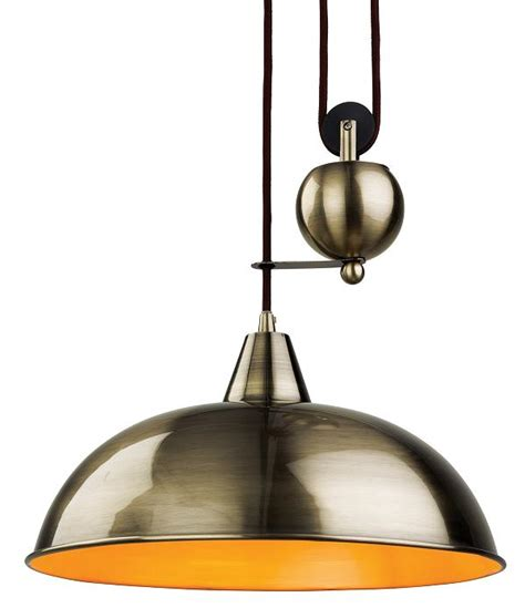Fall Ceiling Lights Firstlight Century Antique Brass Rise Fall Ceiling Light Pendant 2309ab Luxury Lighting