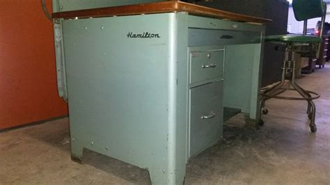 1950 S Hamilton Drafting Table Hydraulic Tilt Top Lift Hamilton A Torque Drafting Table