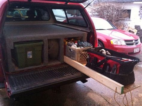 bett organizer truck bed organizer fits three totes on the left of