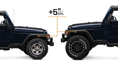 1997 jeep lift kit 1997 2006 jeep wrangler lift kits extremeterrain free