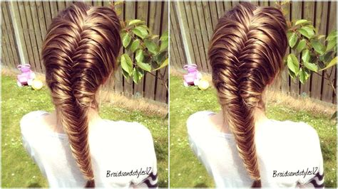 steps to show how to make fish tail favload how to french fishtail braid for beginners