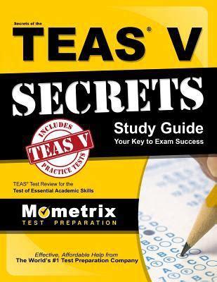sle of teas test secrets of the teas study guide your key to success by media mometrix paperback