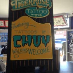 tiger rose tattoo pismo tiger pismo ca reviews