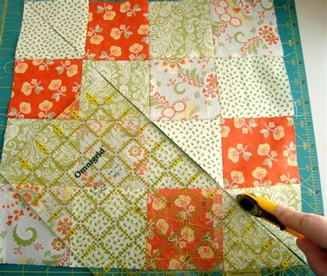 16 Quilt Block Patterns disappearing 16 patch quilt block tutorial