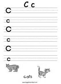 letter c worksheets kindergarten davezan