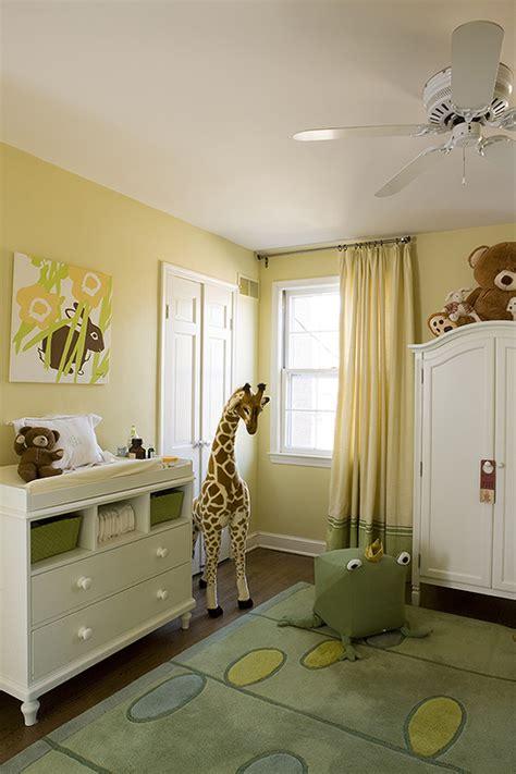 Lemon Nursery Curtains Nursery Armoire Transitional Nursery Farrow And Hound Lemon Liz Levin Interiors