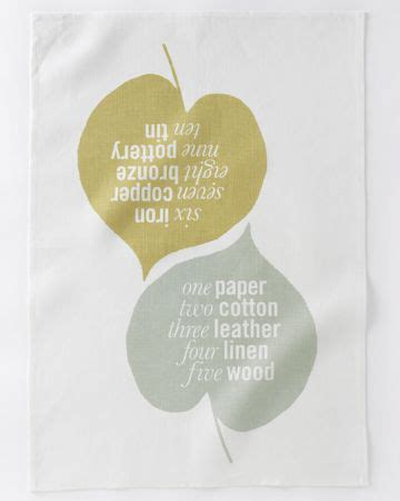 Wedding Anniversary Years Tea Towel by 10 Years Of Wedding Anniversary Gifts Tea Towels