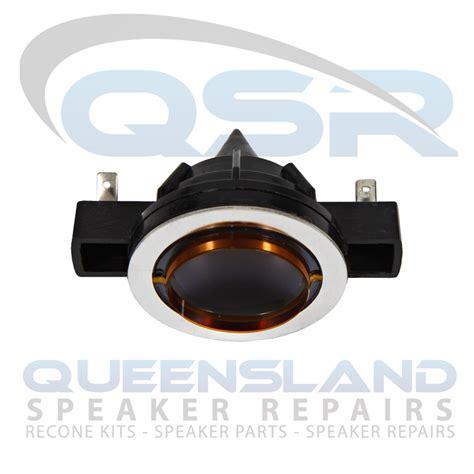 Spool Speaker Voice Coil 37mm electro voice ev 2010a sx100 eliminator diaphragm 8ω 183 queensland speaker repairs