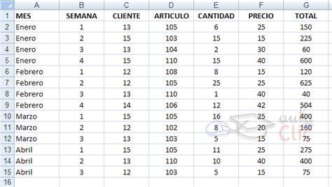 tablas dinmicas para hacer el estado de cambios en la curso gratis de excel 2010 aulaclic 17 ejercicio