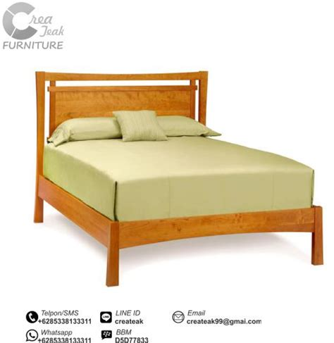 Dipan Kayu Surabaya dipan minimalis jati simpel createak furniture createak furniture
