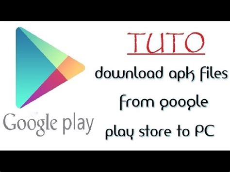 play store apk to pc how to apk files from play store to your computer