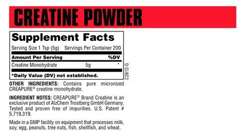 is creapure better is universal creatine micronized creapure anabolicminds