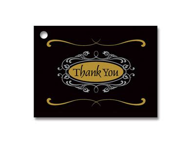 Script Gift Cards - thank you script gift card 3 3 4 quot x 2 3 4 quot 12 cards pack