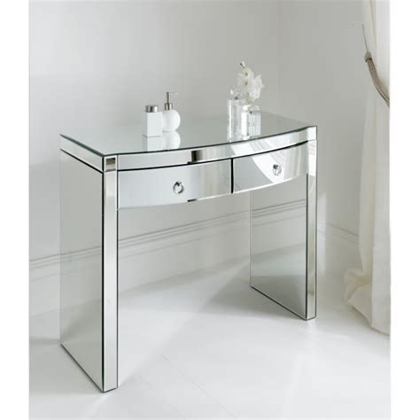 console firenze florence mirrored console table