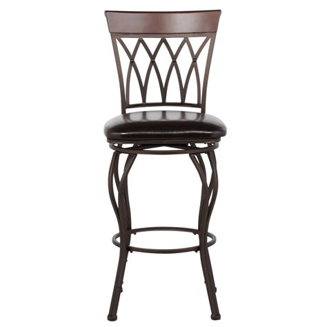 home decorators collection square seat special values bar home decorators collection classic metal swivel bar stool