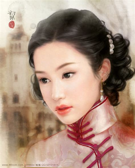 old chinatown lady hairdos shanghai girl from 1930s by yangqi on deviantart