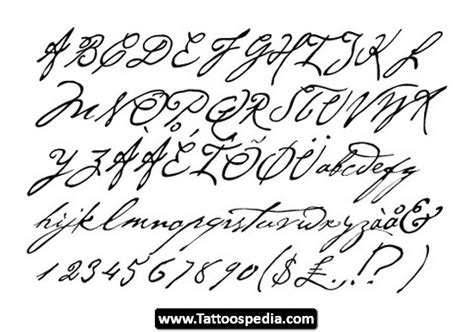 tattoo alphabet creator tattoo 20cursive 20fonts 02 tattoo cursive fonts 02