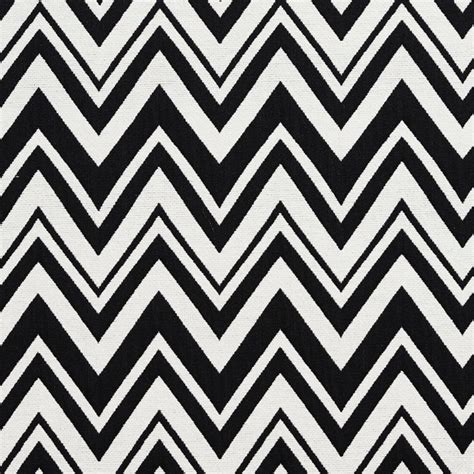 zig zag pattern black and white black and white chevron zig zag upholstery fabric by the