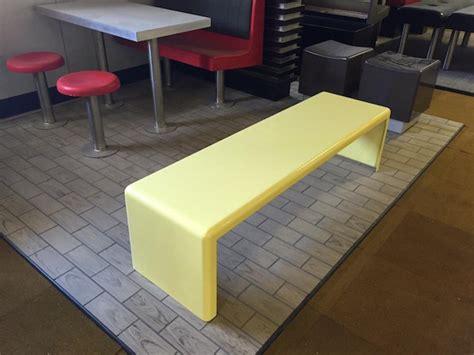 wide bench general restaurant furniture master glass industries